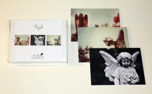 Angel card set, Jody Valentine Photographic Mixed Media