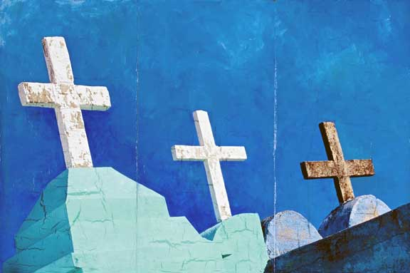Crucifixes, Jody Valentine Photographic Mixed Media