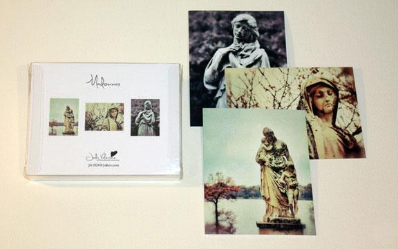 Masonna card set, Jody Valentine Photographic Mixed Media