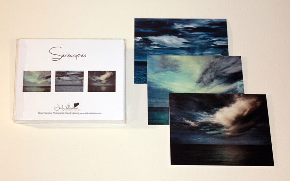 Seascapes Card Set, Jody Valentine Photographic Mixed Media