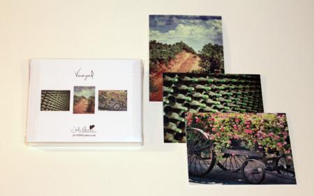Vineyard Card Set, Jody Valentine Photographic Mixed Media